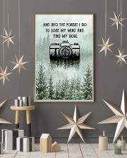 Snow Forest Lose My Mind Camera Photography 11x17 Poster lifestyle-holiday-poster-1