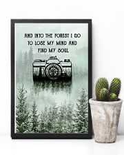 Snow Forest Lose My Mind Camera Photography 11x17 Poster lifestyle-poster-8