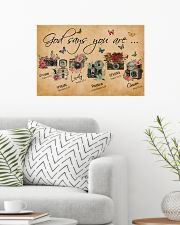 God Say You Are Flower Camera 24x16 Poster poster-landscape-24x16-lifestyle-01