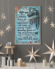 Classic Blue Life Is A Camera 11x17 Poster lifestyle-holiday-poster-1