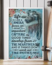 Classic Blue Life Is A Camera 16x24 Poster lifestyle-poster-4