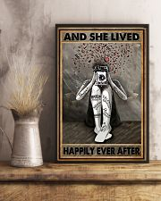 And She Lived Happily Ever After Photography 16x24 Poster lifestyle-poster-3