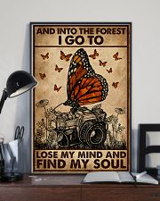 And Into The Forest Camera 16x24 Poster lifestyle-poster-2
