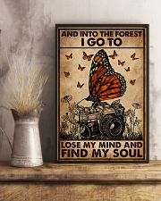 And Into The Forest Camera 16x24 Poster lifestyle-poster-3