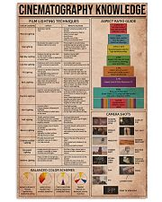 Cinematography Knowledge 16x24 Poster front