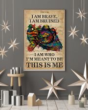 Vintage Music I Am Brave Pride Camera 11x17 Poster lifestyle-holiday-poster-1