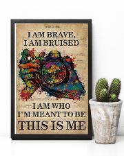 Vintage Music I Am Brave Pride Camera 11x17 Poster lifestyle-poster-8