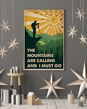 Vintage The Mountain Are Calling Photography 11x17 Poster lifestyle-holiday-poster-1