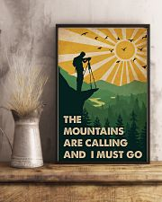 Vintage The Mountain Are Calling Photography 11x17 Poster lifestyle-poster-3