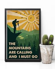 Vintage The Mountain Are Calling Photography 11x17 Poster lifestyle-poster-8
