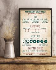 Photography Cheat Sheet 11x17 Poster lifestyle-poster-3