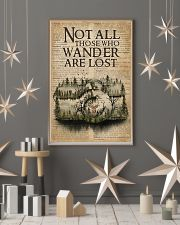 Vintage Dictionary Wander Are Lost Forest Camera 11x17 Poster lifestyle-holiday-poster-1