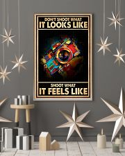 Shoot What It Feels Like Camera 16x24 Poster lifestyle-holiday-poster-1