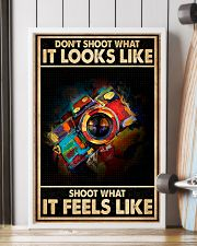 Shoot What It Feels Like Camera 16x24 Poster lifestyle-poster-4