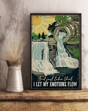 Vintage Photography I Let My Emotion Flow 11x17 Poster lifestyle-poster-3
