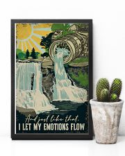 Vintage Photography I Let My Emotion Flow 11x17 Poster lifestyle-poster-8