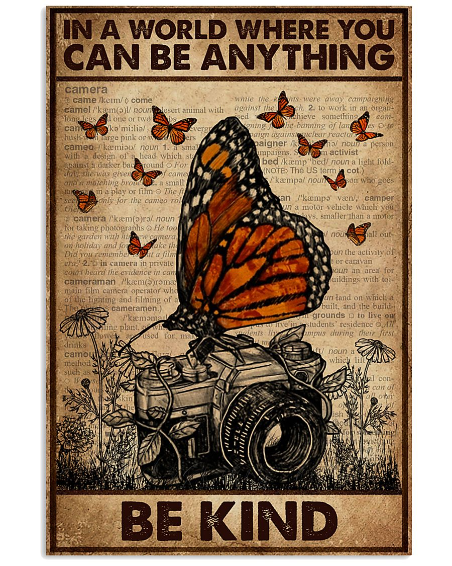 Dictionary You Can Be Anything Be Kind Camera 16x24 Poster