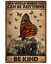 Dictionary You Can Be Anything Be Kind Camera 16x24 Poster front