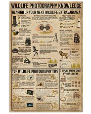 Wildlife Photography Knowledge 11x17 Poster front