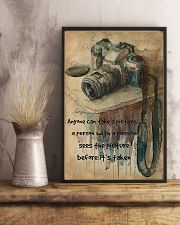 Photography Passion Canvas Camera 11x17 Poster lifestyle-poster-3