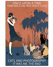 Vintage Girl Once Upon Time Cats And Photography 11x17 Poster front