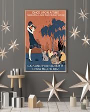 Vintage Girl Once Upon Time Cats And Photography 11x17 Poster lifestyle-holiday-poster-1