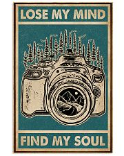 Retro Green Lose My Mind Camera 11x17 Poster front
