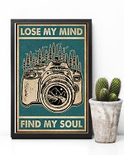 Retro Green Lose My Mind Camera 11x17 Poster lifestyle-poster-8