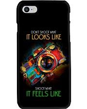 Shoot What It Feels Like Camera Phone Case i-phone-8-case