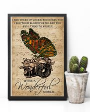 Music Sheet Wonderful World Camera Butterfly 11x17 Poster lifestyle-poster-8
