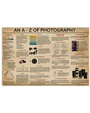 An A - Z Of Photography 17x11 Poster front