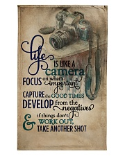 Vintage Life Is Like A Camera Tea Towel thumbnail