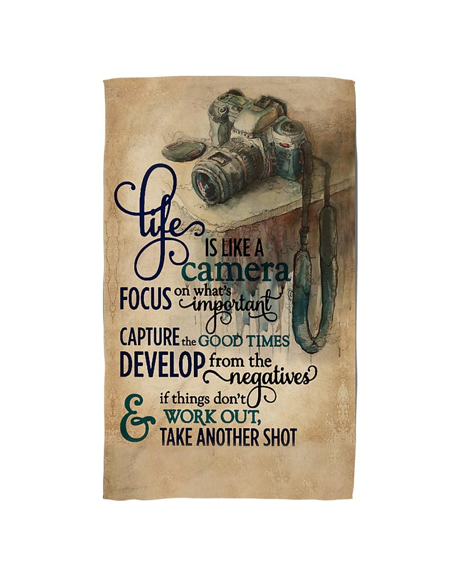 Vintage Life Is Like A Camera Hand Towel