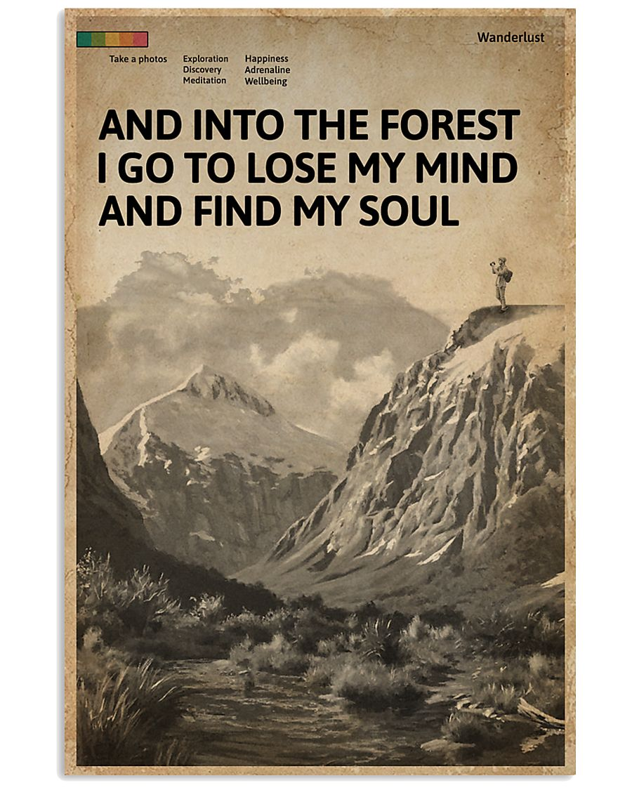 Cover And Into The Forest Photography 16x24 Poster