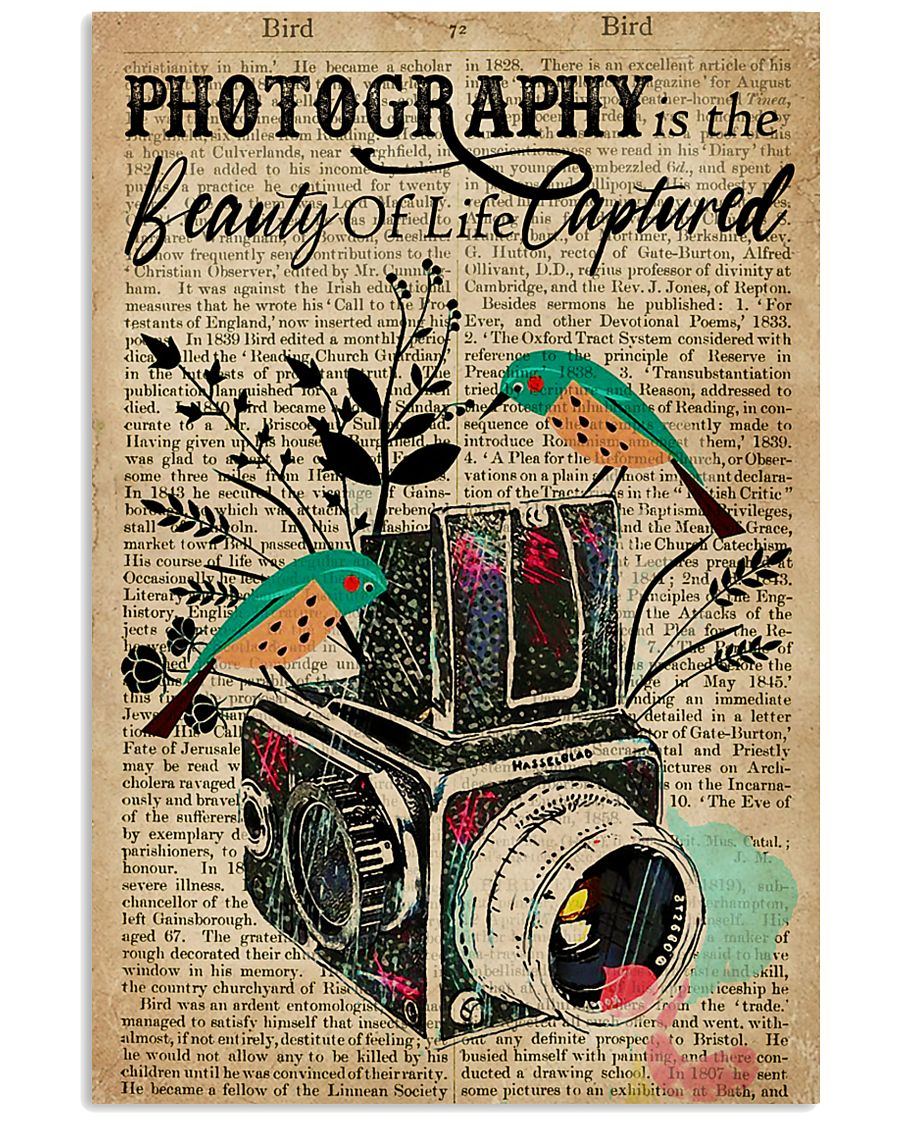Dictionary Beauty Of Life Captured Camera 16x24 Poster