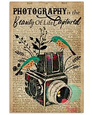 Dictionary Beauty Of Life Captured Camera 16x24 Poster front
