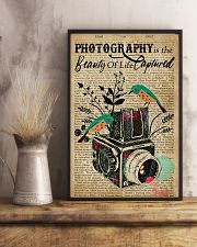 Dictionary Beauty Of Life Captured Camera 16x24 Poster lifestyle-poster-3
