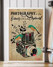 Dictionary Beauty Of Life Captured Camera 16x24 Poster lifestyle-poster-4