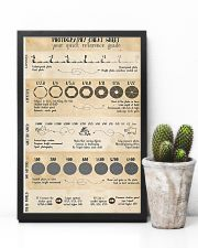 Photography Cheat Sheet Your Quick Reference Guide 11x17 Poster lifestyle-poster-8