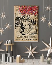 Vintage Dictionary Love Dogs And Photography 11x17 Poster lifestyle-holiday-poster-1