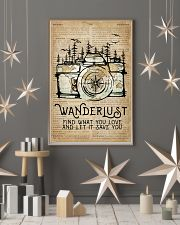 Wanderlust Camera Mountain 11x17 Poster lifestyle-holiday-poster-1