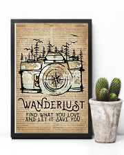 Wanderlust Camera Mountain 11x17 Poster lifestyle-poster-8