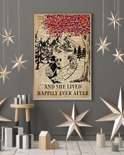 Vintage Dictionary Lived Happily Camera 11x17 Poster lifestyle-holiday-poster-1