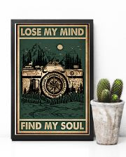 Retro Green Find My Soul Camera 11x17 Poster lifestyle-poster-8