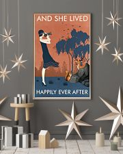 Vintage Girl Lived Happily Photography 11x17 Poster lifestyle-holiday-poster-1