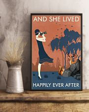 Vintage Girl Lived Happily Photography 11x17 Poster lifestyle-poster-3