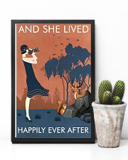 Vintage Girl Lived Happily Photography 11x17 Poster lifestyle-poster-8