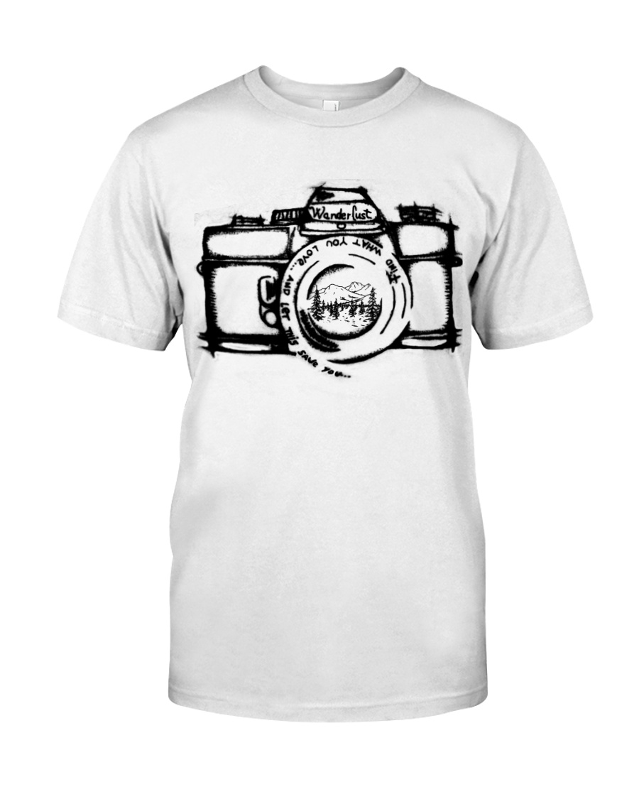 Wanderlust Camera - On Sale Classic T-Shirt