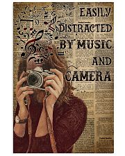 Easily Distracted By Music And Camera 16x24 Poster front