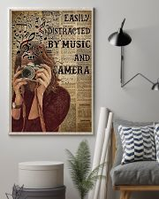 Easily Distracted By Music And Camera 16x24 Poster lifestyle-poster-1